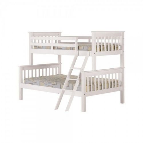 Neptune Triple Sleeper Bunk Bed WHITE
